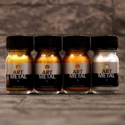 Metallglanzlack Art Metal 4-Set a 30 ml