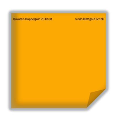 Blattgold Dukaten-Doppelgold 23 Karat lose