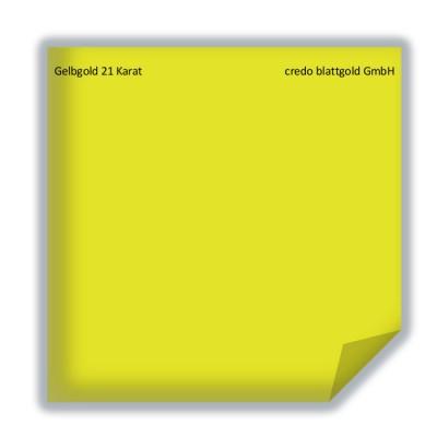 Blattgold Gelbgold 21 Karat lose