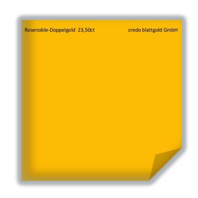 Blattgold Rosenobel-Doppelgold 23,5 Karat lose