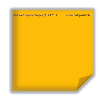 Blattgold Steinmetz Spezial Doppelgold 23,25 Karat transfer