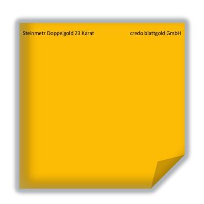 Blattgold Steinmetz Doppelgold 23 Karat lose