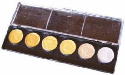 Malkasten Metallglanz RESTAURATOR 6