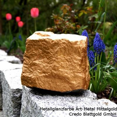 Metallglanzlack Art Metal Mittel Gold