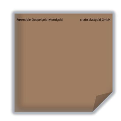Blattgold Rosenoble-Doppelgold-Mondgold lose