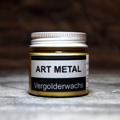 Art Metal Vergolderwachs Gold 50 ml