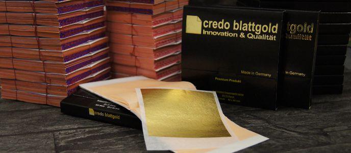 Blattgold transfer 80x80 mm